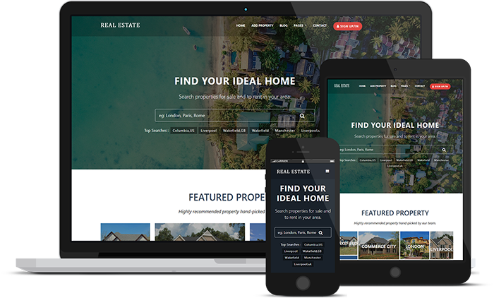 new realestate theme