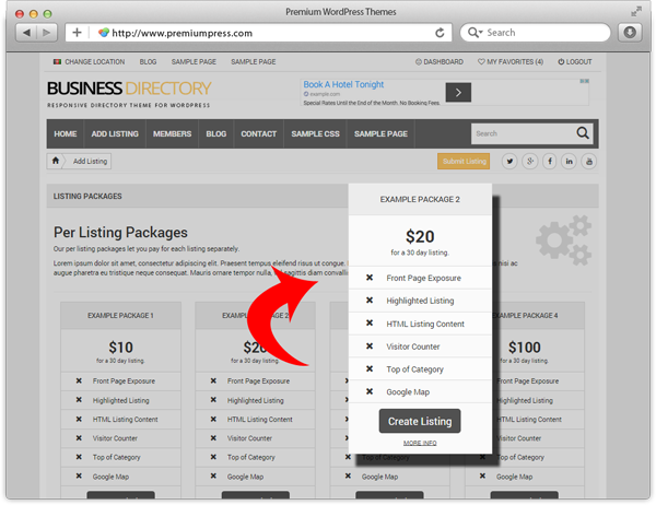 Directory Listing Packages and User Membership