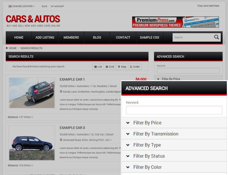 Advanced Search & Custom Fields
