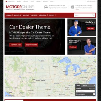 car dealer theme