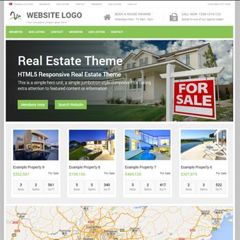 default real estate theme