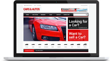 Wordpress Car Dealer Theme