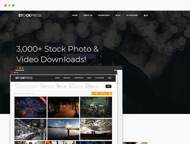Stock Photo Theme