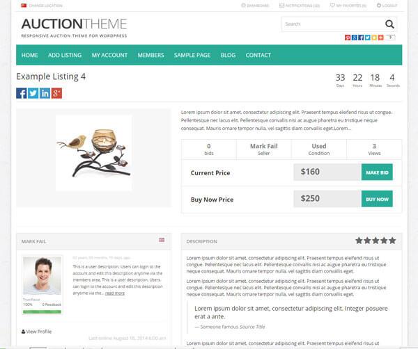 Auto Bidding, Reserve & Buy Now Prices