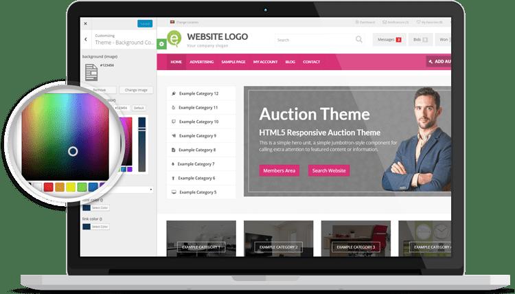 online auction site