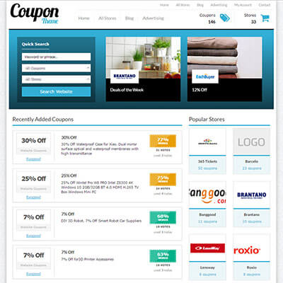 Coupon Theme