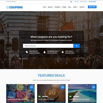 Coupon & Deals Theme