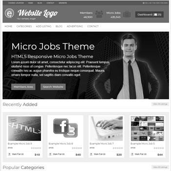 Micro Jobs Theme