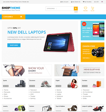 Digital Store Theme