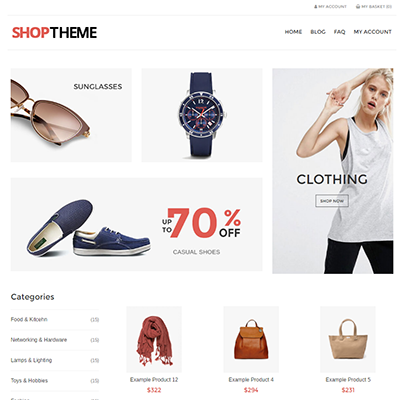Shop Theme Default