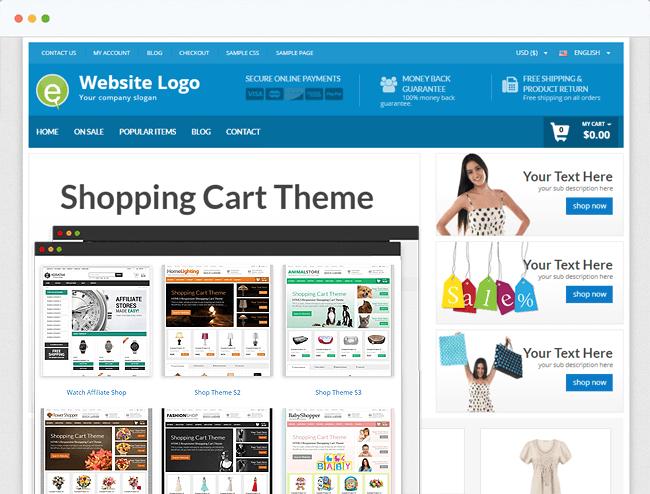 Shopping Cart Theme