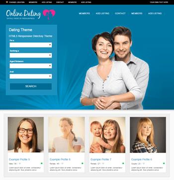 WordPress online dating θέμα