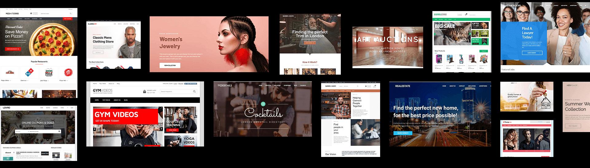 Website Child Themes