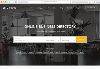 Wordpress directory theme new 2018 download now directory theme directory script wordpress directory fbccfo Images