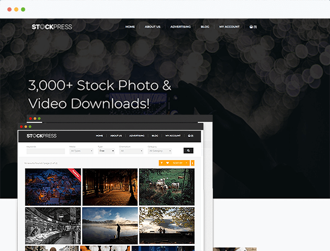 Stock Photography Theme