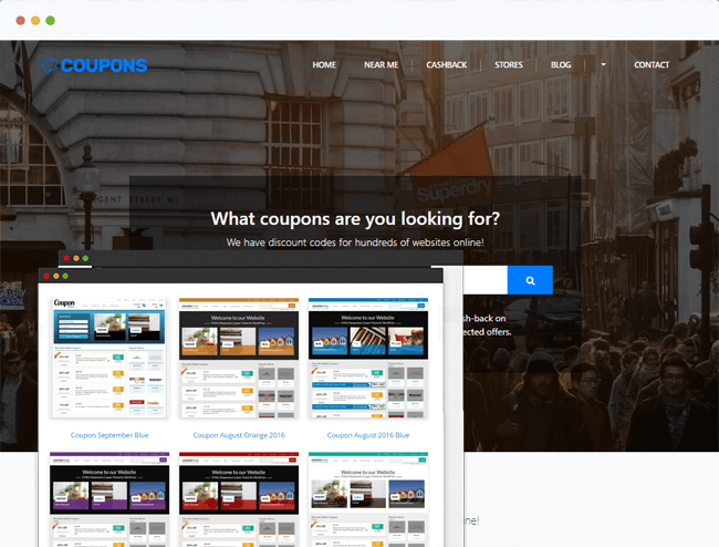 Coupon & Deals Theme