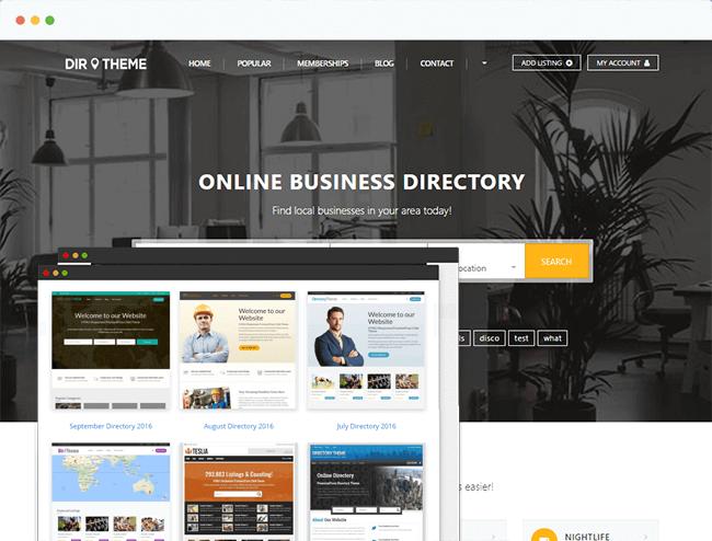Directory Theme
