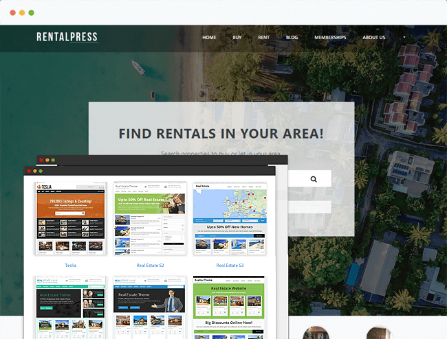 Real Estate Theme
