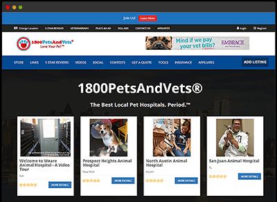 Online Vet Directory
