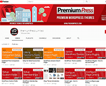 premiumpress youtube channnel