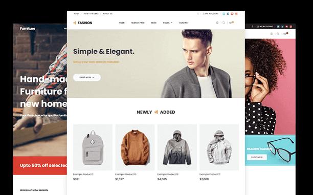 100/% Ownership Custom Website Website Design Wordpress Online Store