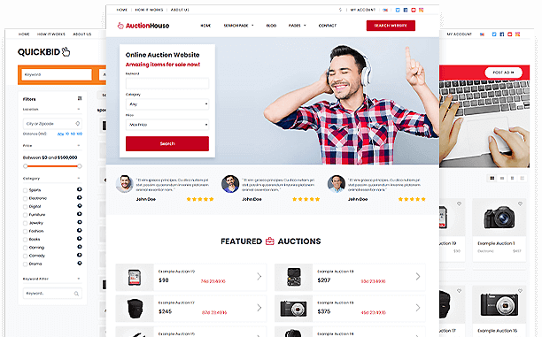 1 Wordpress Auction Theme New 2020 Download Now