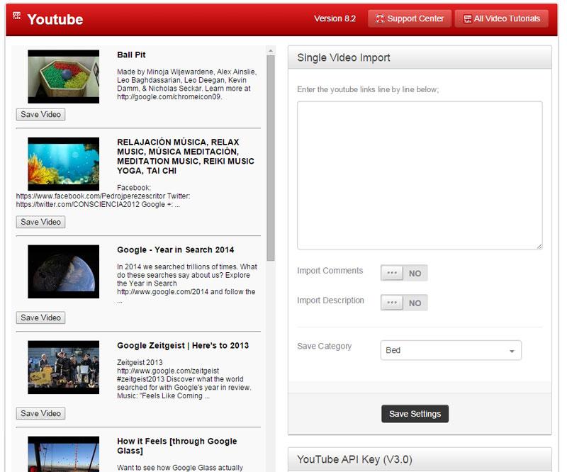youtube plugin