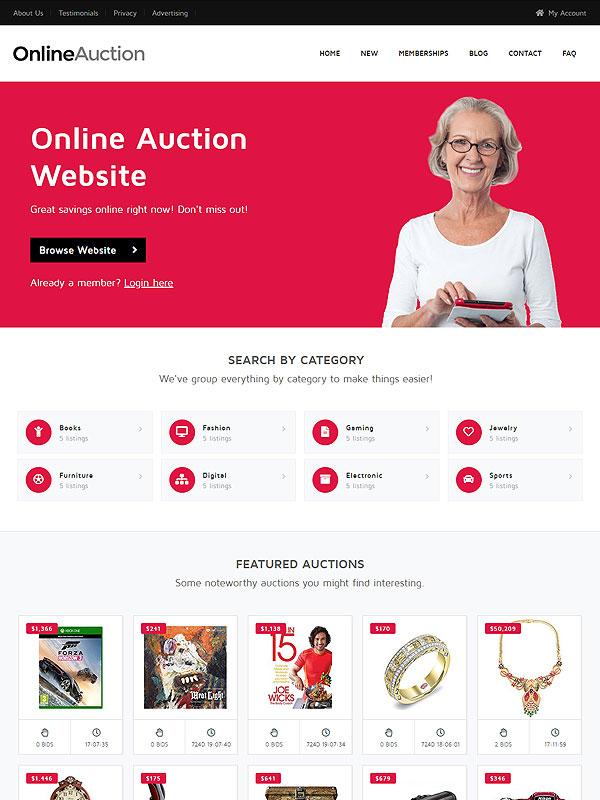Auction Theme 6