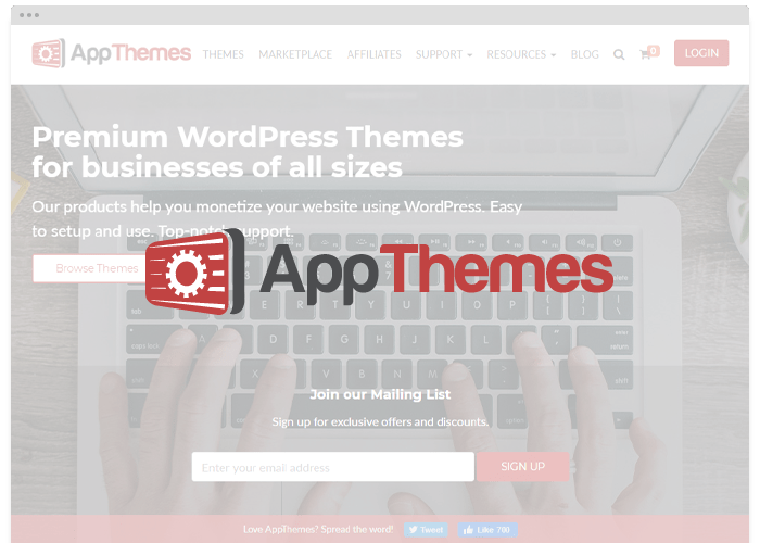 AppThemes Transfer Tools