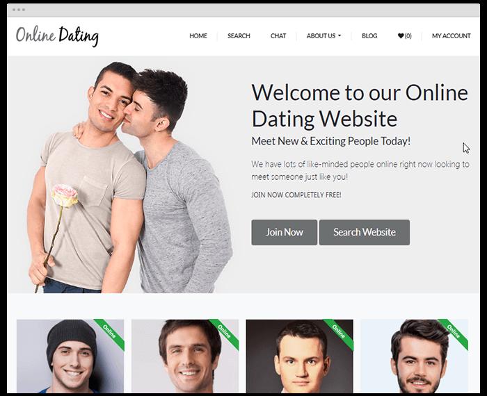 Dating Theme 2 demo