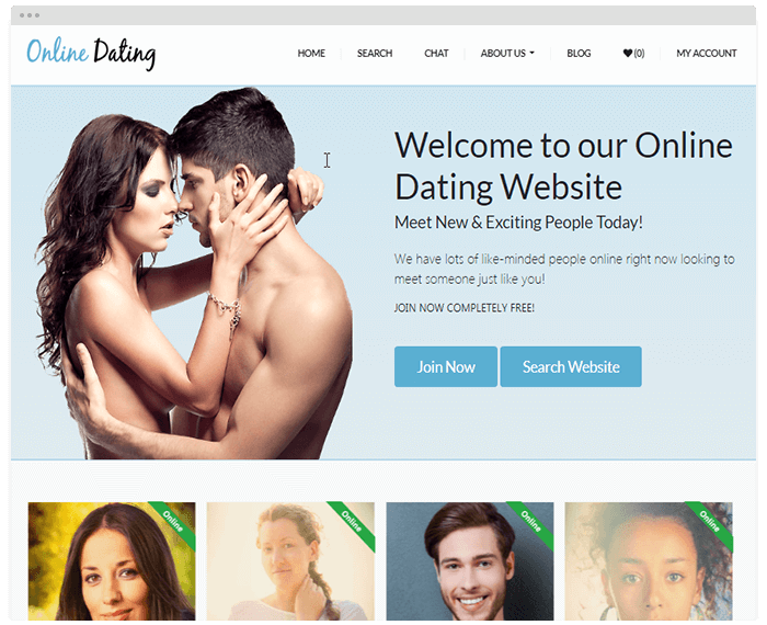 Dating Theme 5 demo