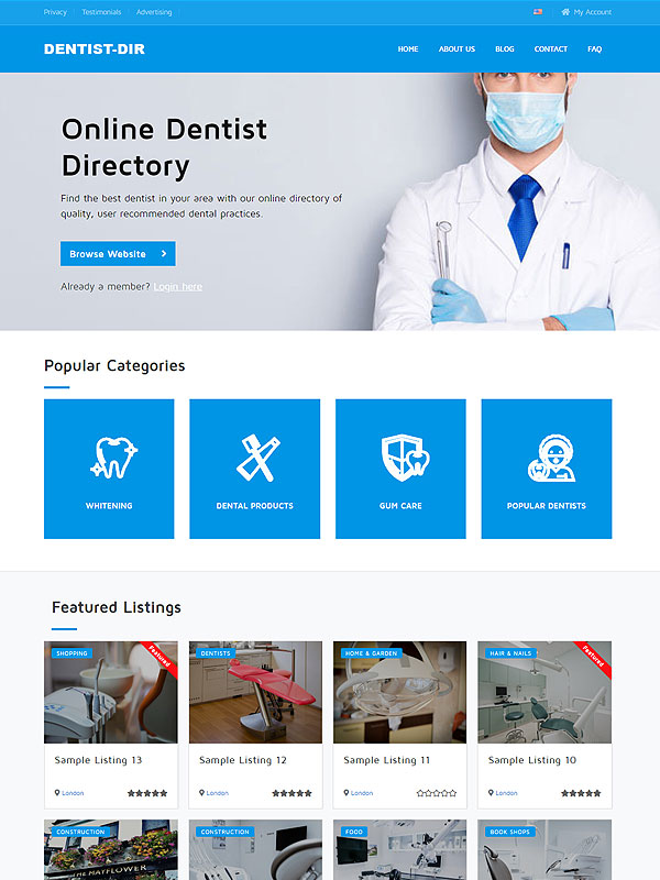 Dentist Directory