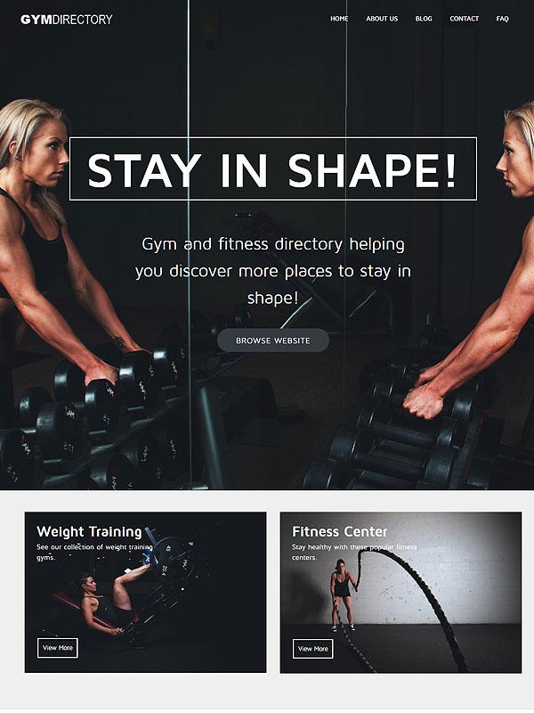 Gym Directory