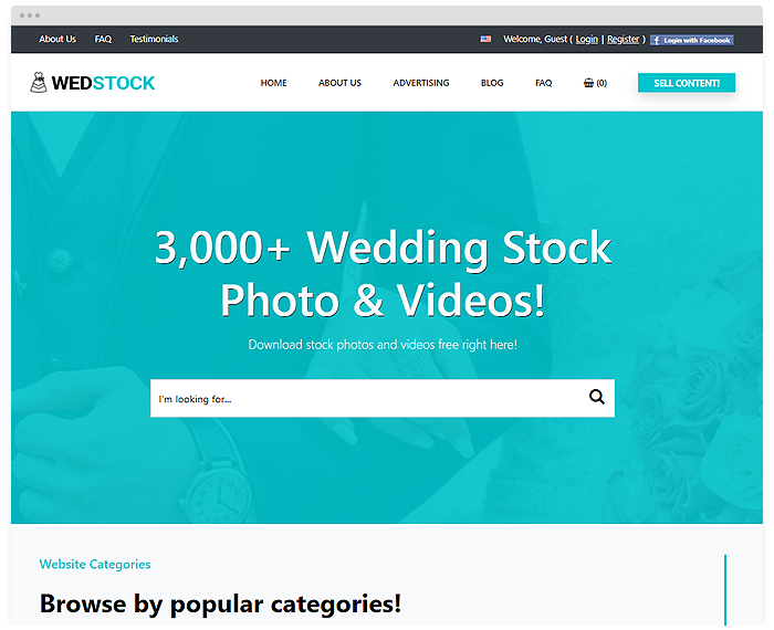 Stock – Wedding demo