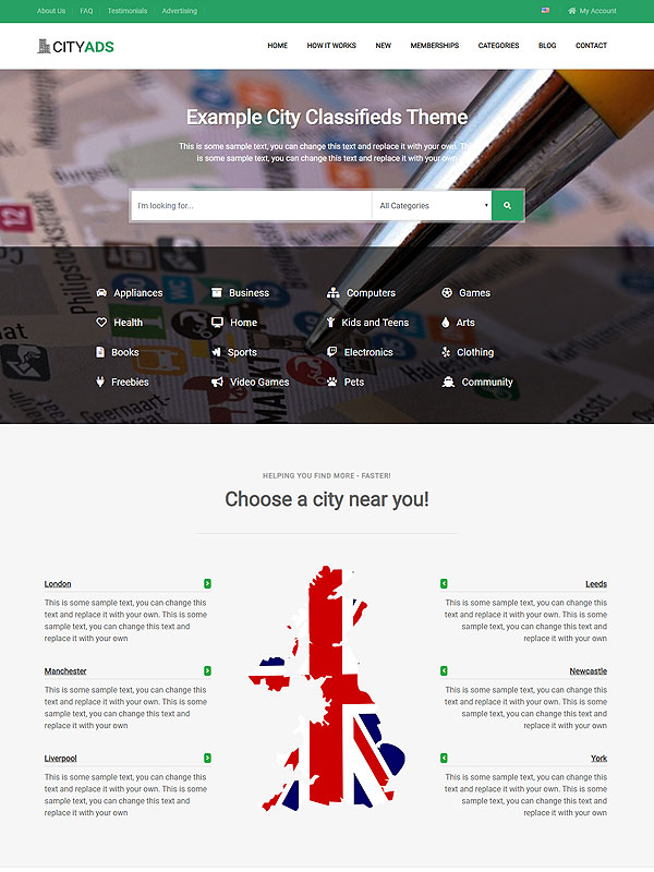 Classifieds – City