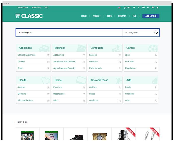 Classifieds - Classic