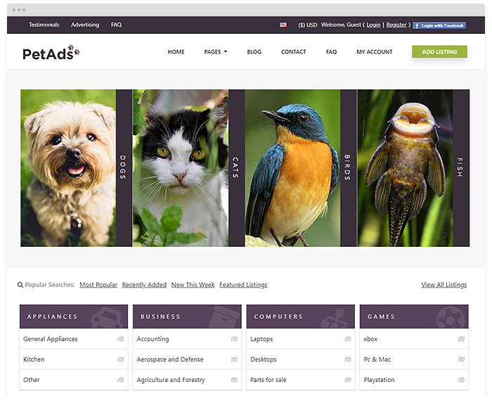 Classifieds - Pets