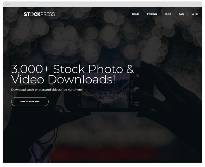 Stock – Portraits demo