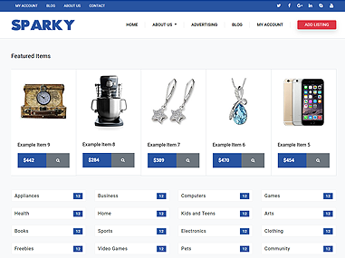 Classifieds – Sparky
