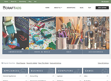 Classifieds – Arts & Crafts