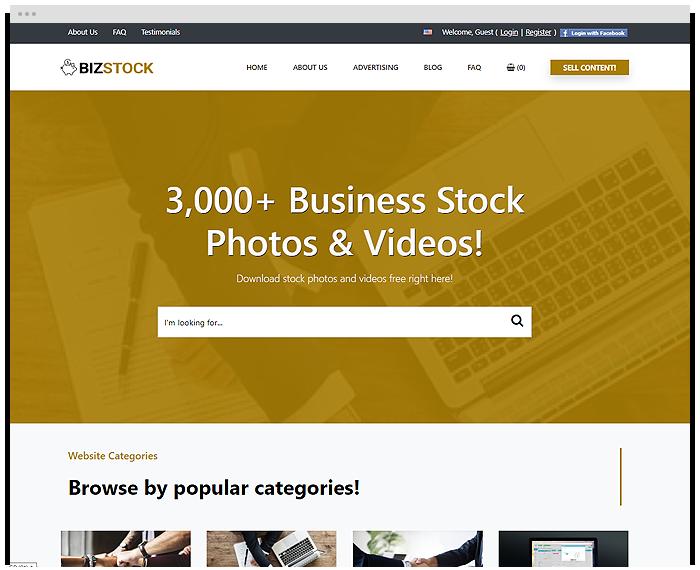 Stock – Business demo
