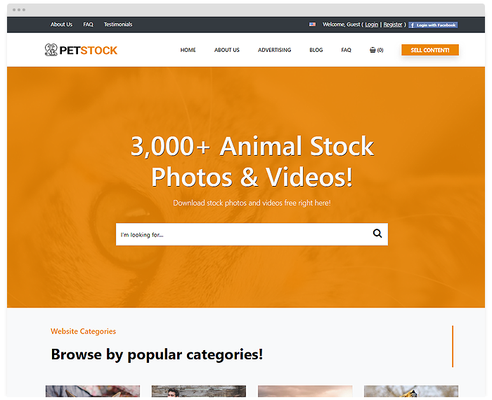 Stock - Pets