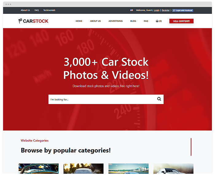 Stock – Cars demo