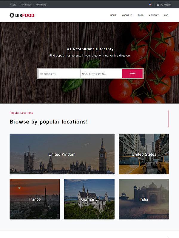 Directory – Food