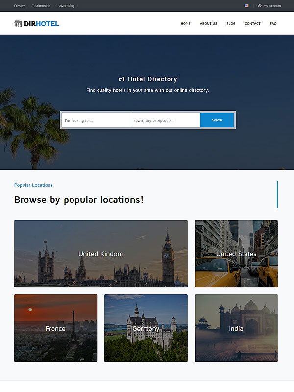 Directory – Hotels