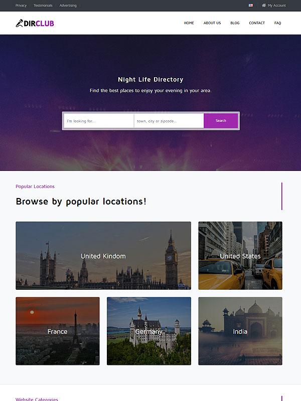 Directory – Night Life