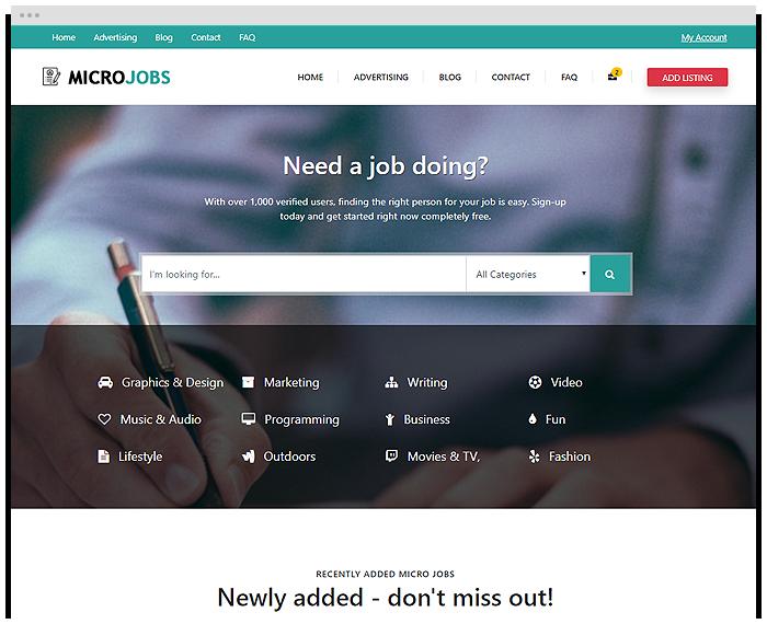 Micro Jobs - Turquoise