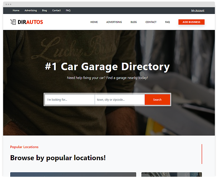 Directory – Cars demo