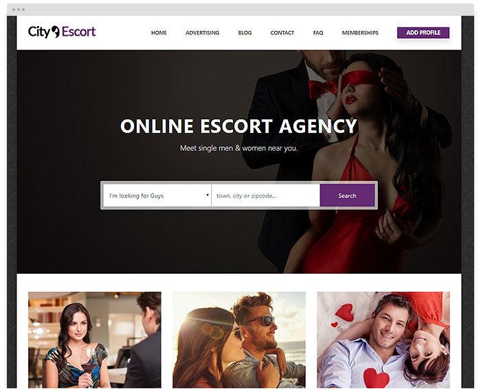 Dating – Escorts demo
