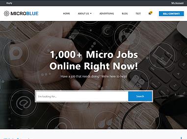 Micro Jobs – Blue